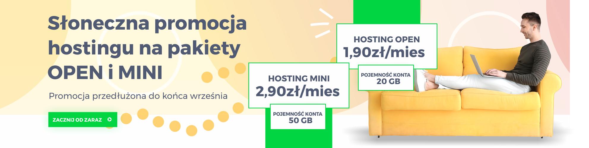hosting start